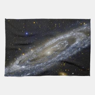 Arte de la galaxia de Milkyway Toalla De Mano