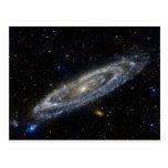 Arte de la galaxia de Milkyway Postal