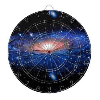Arte de la galaxia tabla dardos