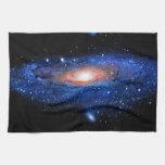 Arte de la galaxia toalla de mano