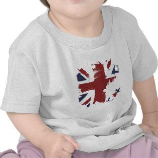 arte de la grieta de Reino Unido Camisetas