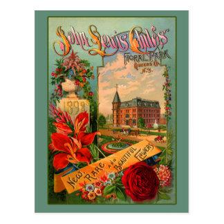 Arte de la horticultura de Juan Lewis Childs Tarjeta Postal