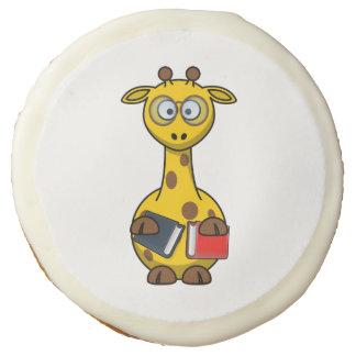 Arte de la jirafa del ratón de biblioteca