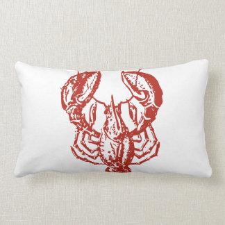 Arte de la langosta, rey de los regalos de los mar almohada