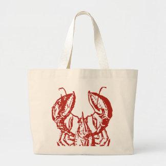 Arte de la langosta rey de los regalos de los mar bolsa