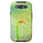 Arte de la libélula galaxy s3 protectores