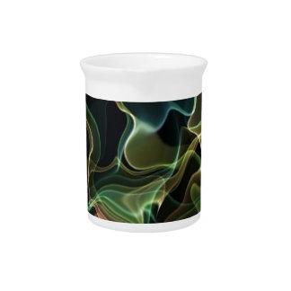 arte de la llama suave jarras de beber