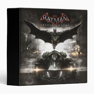 "Arte de la llave del caballero de Batman Arkham Carpeta 1 1/2"""