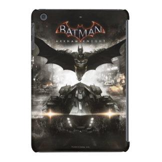 Arte de la llave del caballero de Batman Arkham Funda De iPad Mini
