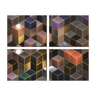 """Arte de la lona de las """"ciudades futuras"""" del arte impresiones en lona"""