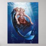 """Arte de la lona de las """"sirenas"""" impresiones"""