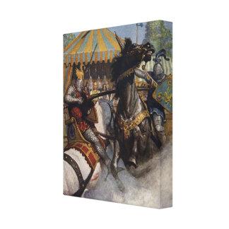 Arte de la lona de rey Arturo Series 6 Impresion De Lienzo