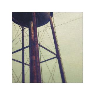 Arte de la lona de Watertower Impresión En Lona Estirada