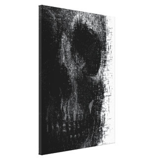 Arte de la lona del cráneo lona estirada galerías