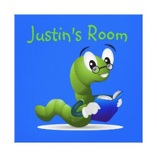 Arte de la lona del dormitorio del niño del ratón impresiones en lona estiradas