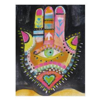 ARTE de la mano de Hamsa Postal