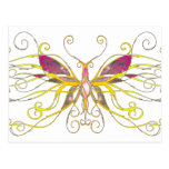 Arte de la mariposa postal