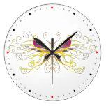Arte de la mariposa reloj