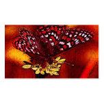Arte de la mariposa tarjeta de negocio