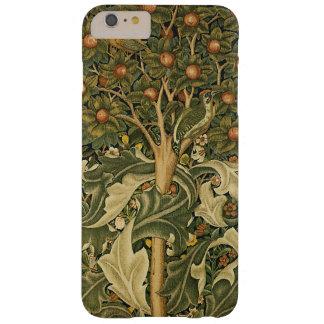 Arte de la materia textil del vintage, pulsación funda de iPhone 6 plus barely there