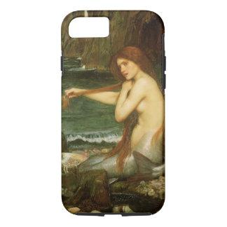 Arte de la mitología del Victorian, sirena por el Funda iPhone 7