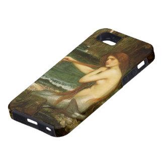 Arte de la mitología del Victorian, sirena por el Funda Para iPhone SE/5/5s