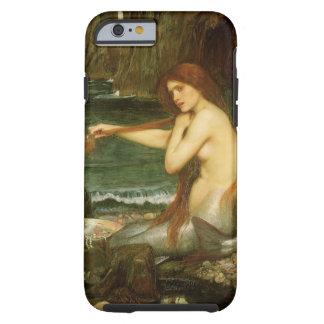 Arte de la mitología del Victorian, sirena por el Funda Resistente iPhone 6