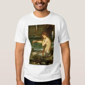 Arte de la mitología del Victorian, sirena por el Poleras