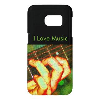 Arte de la música del amor funda samsung galaxy s7