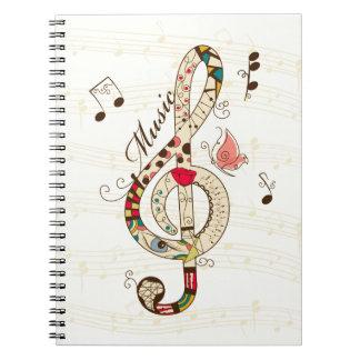 Arte de la música libros de apuntes