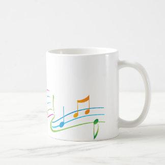 Arte de la música tazas