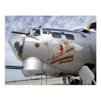 Arte de la nariz B-17 Postales