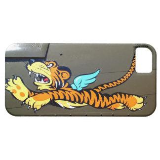 Arte de la nariz del tigre del vuelo (fuselaje del funda para iPhone SE/5/5s