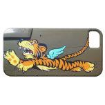 Arte de la nariz del tigre del vuelo (fuselaje del iPhone 5 carcasas