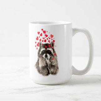 Arte de la naturaleza animal de los besos del taza clásica