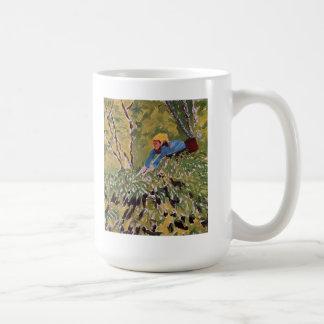 Arte de la naturaleza de los árboles de las bayas  tazas de café
