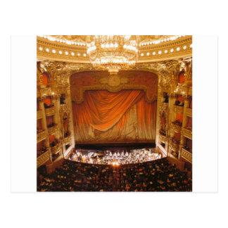 arte de la ópera postal