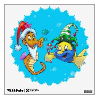Arte de la pared de FriendFish Vinilo Adhesivo