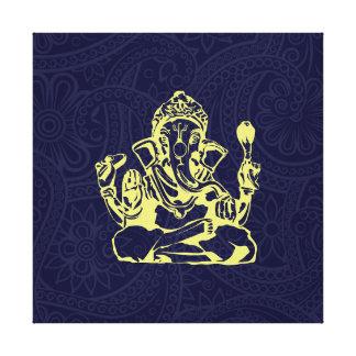 Arte de la pared de la lona de la deidad hindú de  lienzo envuelto para galerías