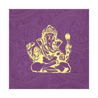 Arte de la pared de la lona de la deidad hindú de  impresión en lienzo estirada