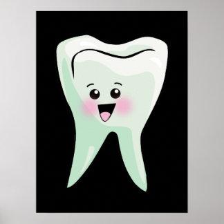 Arte de la pared de la odontología poster