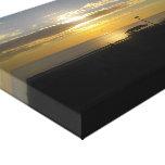 Arte de la pared de la salida del sol impresiones en lienzo estiradas