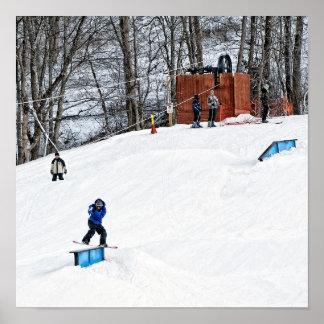 Arte de la pared de la snowboard posters
