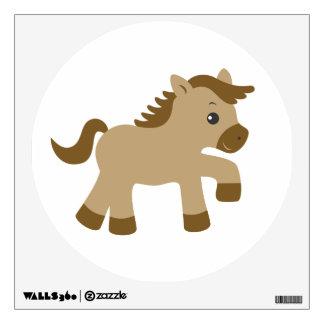 Arte de la pared de los niños - animales - caballo vinilo