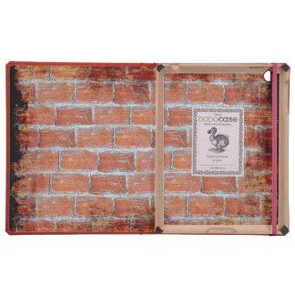 Arte de la pared de piedra iPad fundas