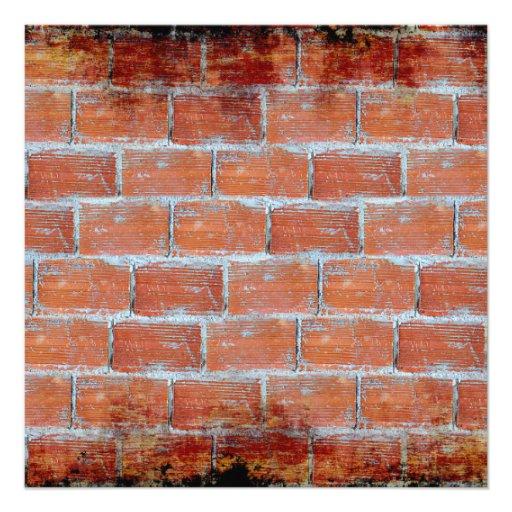 Arte de la pared de piedra comunicados personalizados
