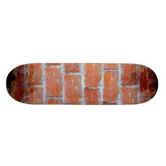 Arte de la pared de piedra tabla de skate