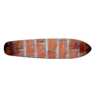 Arte de la pared de piedra tablas de patinar