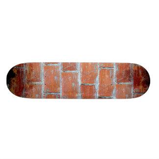 Arte de la pared de piedra patines