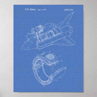 Arte de la patente del transbordador espacial 1977